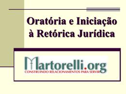 Retórica e Argumentação Jurídica