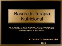 Bases da Terapia Nutricional