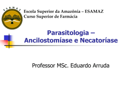 Ancilostomiase-e-Necatoriase-2014 - Página inicial