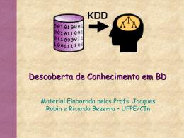 IntroducaoKDDprocess - pgc-upe