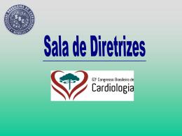 Sala de Diretrizes - Sociedade Brasileira de Cardiologia