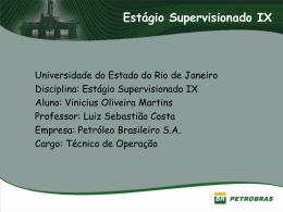 Apresentação Vinicius Martins