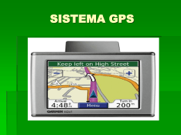 SISTEMA GPS - WordPress.com