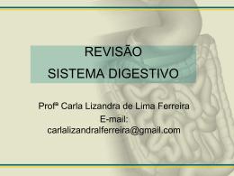 REVISÃO SISTEMA DIGESTIVO