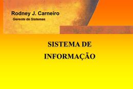 Sistema de Informaçao - rodneycarneiro.com.br