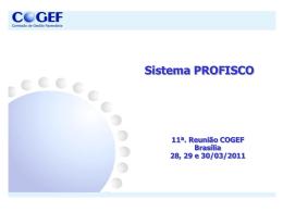 COGEF ANEXO 07 PROFISCO CE Sistema Financeiro