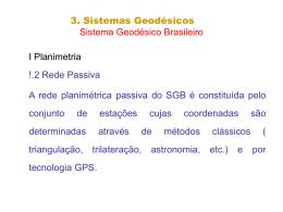 sistema geodésico 2
