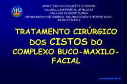 tratamento cirúrgico dos cistos do complexo buco-maxilo