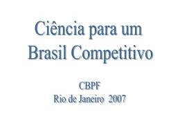 Física Para um Brasil Competitivo - Mesonpi