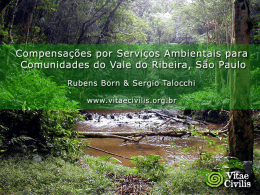 Projeto Ecoturismo em São Lourenço da Serra