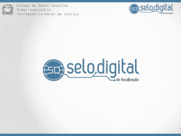 Selo Digital de Fiscalização