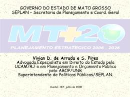 ppp - seplan / mt