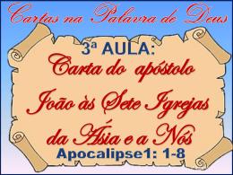 Carta do apóstolo João às Sete Igrejas da Ásia