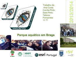 Parque aquático em Braga