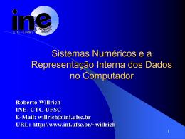 Capítulo 2. Sistemas de Numeração e a Representação