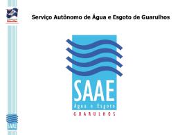 SAAE Guarulhos Metodologia