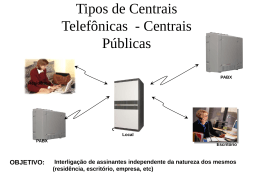 Tipos de Centrais Telefônicas - Kendi Sakamoto Contact Center