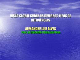 VISÃO GLOBAL SOBRE OS DIVERSOS TIPOS DE DEFICIÊNCIAS
