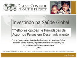 Investing in Global Health