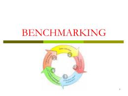 ADMINISTRAÇÃO - BENCHMARKING