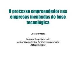 emp93 - Empreendedorismo – Prof. José Dornelas