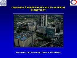 CIRURGIA É SUPERIOR NO MULTI