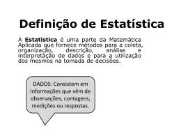 estatistica introdução