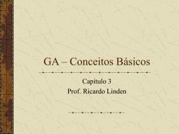 Capítulo 3 - Algoritmos Genéticos, por Ricardo Linden