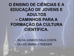Slide 1 - CEEBJA FRANCISCO BELTRÃO