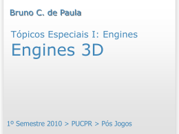 Engines 3D - Bruno Campagnolo de Paula