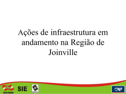 Apresentacao Camara - Governo do Estado de Santa Catarina