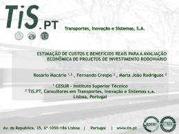 TIS.PT – Transportes Inovação e Sistemas, SA Slide 1