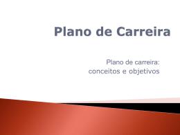 3. Plano de Carreira - Câmara Municipal de Belo Horizonte