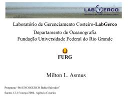 Laboratório de Gerenciamento Costeiro