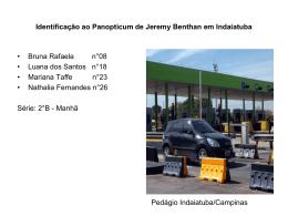 Identificação ao Panopticum de Jeremy Benthan em