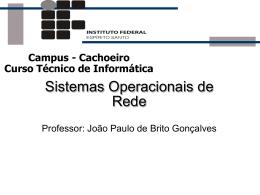 Sistemas Operacionais de Redes