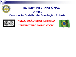 The Rotary Foundation CLIQUE AQUI!!!