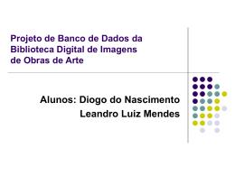 Projeto de Banco de Dados da Biblioteca Digital de Imagens de