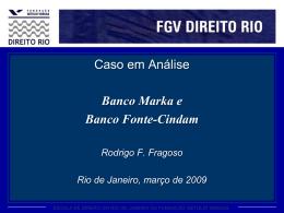 Aula 1: Bancos Marka e Fonte