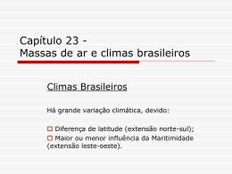 capitulo 23 massas de ar e clima 2 em