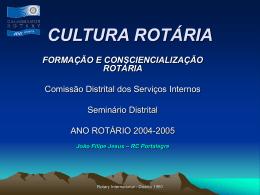 Formação Rotária - rotary clube de portalegre