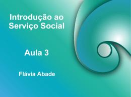 Introdução ao Serviço Social