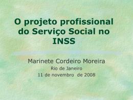 3- O Serviço Social do INSS e a Matriz teórico - CRESS-RJ