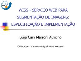 WISS - SERVIÇO WEB PARA SEGMENTAÇÃO DE - DPI