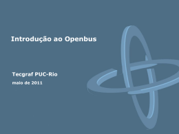 Serviço de Registro - Tecgraf JIRA / Confluence - PUC-Rio