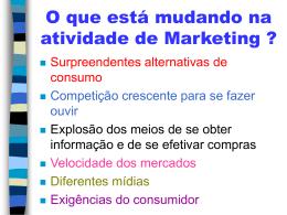Aula 06 - Marketing de Serviços