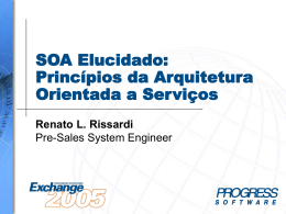 SOA-01:SOA Elucidated: Principles of Service