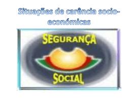 Situações de carência socio-económicas - pradigital