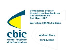 Apresentação Adriano Pires