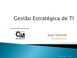 OSM Organização, Sistemas e Métodos